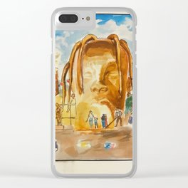 """""""Astroworld"""" by Mauri Clear iPhone Case"""
