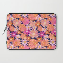 Daisy And Aster Flowers Laptop Sleeve
