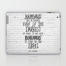 Albus Dumbledore Quote Inspirational Laptop & iPad Skin