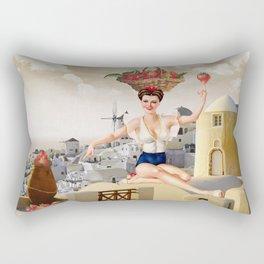 ¡AL RICO FRESON! ¡QUE SABROSON!  Rectangular Pillow