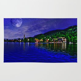 Lake Schliersee Germany Rug