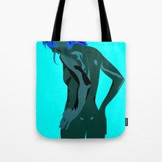 Vector Girl Tote Bag