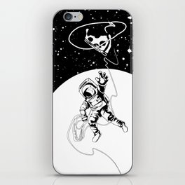 pizza wrangler iPhone Skin