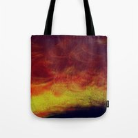 desert Tote Bags featuring desert by donphil