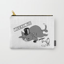Milkaholic Cat Baron Carry-All Pouch