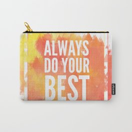 Motivation inks poster. Text lettering of an inspirational saying. Grunge paint vector element set. Carry-All Pouch