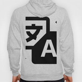 Chinesse letter Hoody