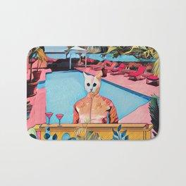 Kitty pool Bath Mat