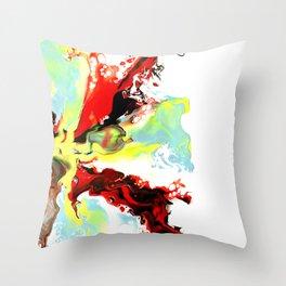Burst of Yellow Throw Pillow
