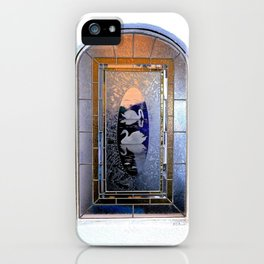 Window, Encinitas, California iPhone Case