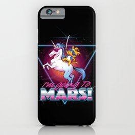 I'm Going To Mars! iPhone Case