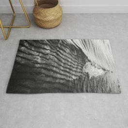 Sand Ripples and Waves Rug