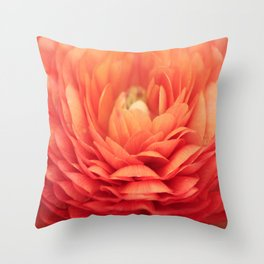 Soft Layers Throw Pillow