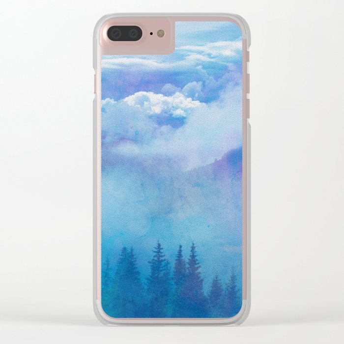 Enchanted Scenery 5 Clear iPhone Case