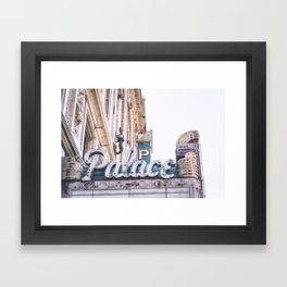 Palace Theatre Framed Art Print