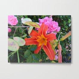 Beauty in the Garden Metal Print