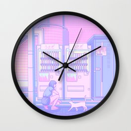Vending Machines Wall Clock