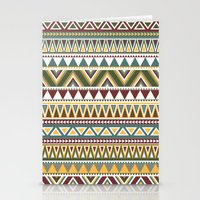 aztec Stationery Cards featuring Aztec by Dianne Delahunty