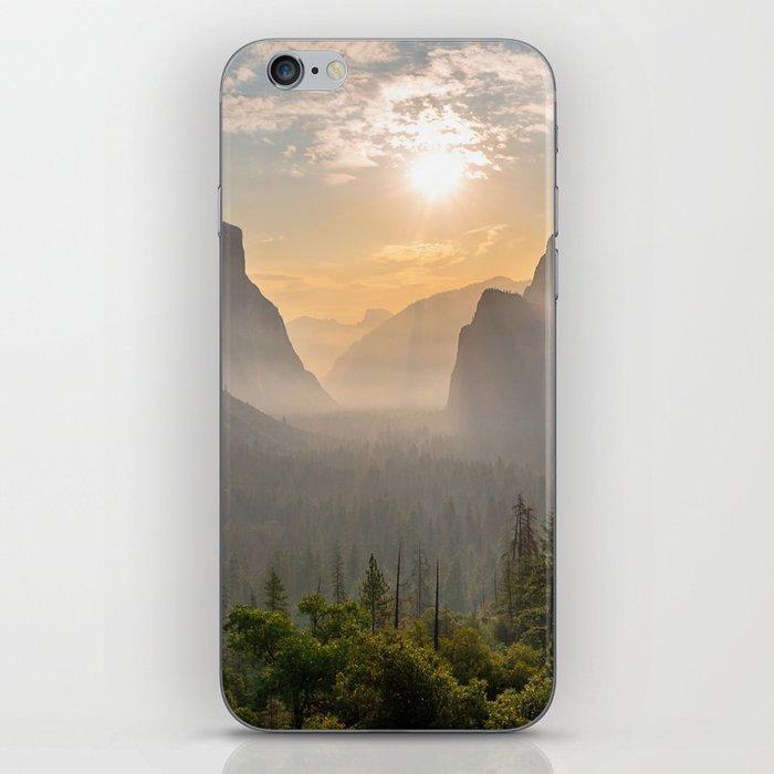 Morning Yosemite Landscape iPhone Skin