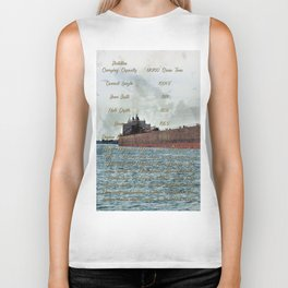 Mesabi Miner freighter and Stats Biker Tank