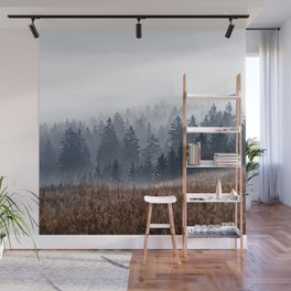 Lost In Fog Wall Mural