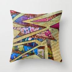 Notes of Vibrance Throw Pillow
