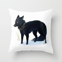 Tread Soft Throw Pillow