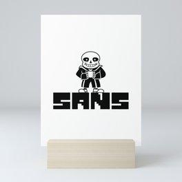 Sans, Undertale, Gamer, E-sports, Player Mini Art Print