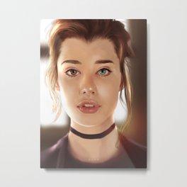 Sarah Mc Daniel - Portrait Metal Print