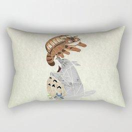 tonari no totoro Rectangular Pillow