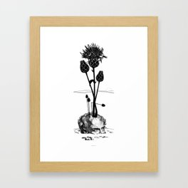 A visual Metaphor for the Philosophical idea of Hope. Framed Art Print