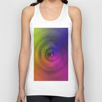 bond Tank Tops featuring SPIRAL BOND by Robert Gipson