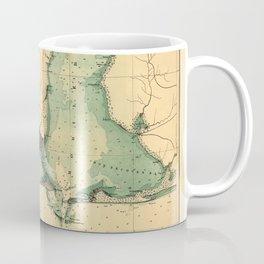 Map Of Mobile 1864 Coffee Mug