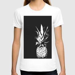 Pineapple Black and White #decor #society6 T-shirt