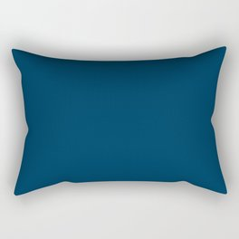 Prussian Blue - solid color Rectangular Pillow