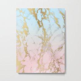 Marble Dream Metal Print