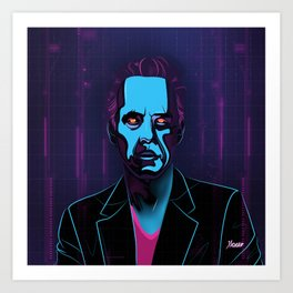 """Jordan Peterson"" Portrait Art Print"