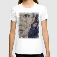 geisha T-shirts featuring Geisha by Michael Creese