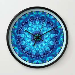 Mandalas from the Heart of Surrender 5 Wall Clock