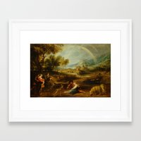 van Framed Art Prints featuring van by DanielRolland