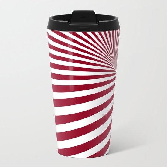 Illusion Metal Travel Mug