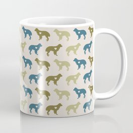 Valentine's dog surface pattern Coffee Mug