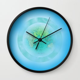 OUR BRIGHT PLANET Wall Clock