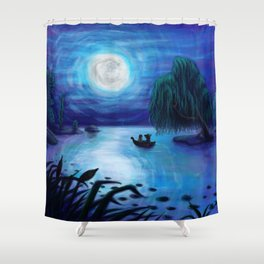 .:Kiss The Girl:. Shower Curtain