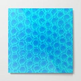 Bluegum Beez Wax Metal Print