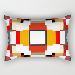 multicolored spatial geometric shellycoat Rectangular Pillow