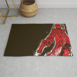 Agent from Hell Rug