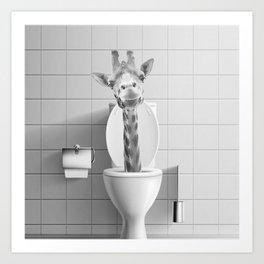 Toilet Art Prints For Any Decor Style Society6