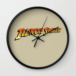 Illinois Smith Wall Clock