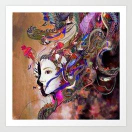 Microportal Art Print